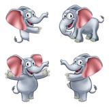 Elephant Cartoon Masoct