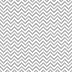 Retro Seamless Pattern Chevron Grey Little