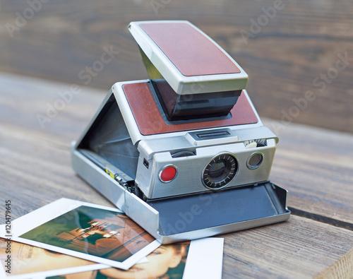alte Polaroid Kamera © Thomas Siepmann