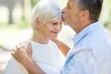 Senior Couple Outdoors 120553507,Летняя ягода