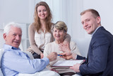 Legal support and family support