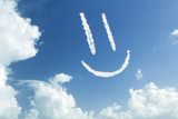 Smiley in the sky