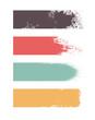 Strisce di vernice e abbinamenti cromatici