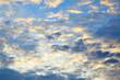 Clouds before sunrise