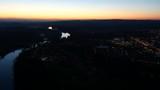 Willamette River at night: 4K Ultra HD