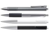 Fototapety Set of Pens Isolated on White. 3D vector illustration