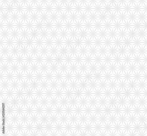 Vector Background, Japan Style #Geometric hemp-leaf pattern