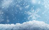 Macro Snowflake and ...
