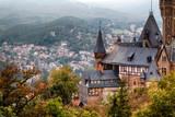 Blick auf das Schloss Wernigerode Harz - 120584279