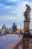 The Charles Bridge walkway