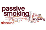 Passive smoking word cloud