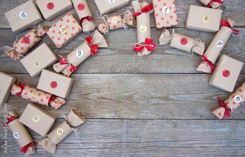 Geschenke/Adventskalender Poster