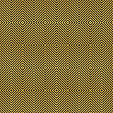 gold on black seamless geometric pattern, based on squares forms