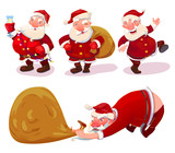 Collection of Santa Claus