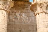 carving wall in Edfu Temple
