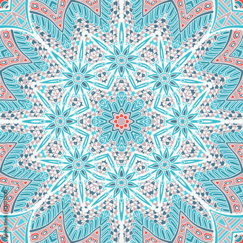 Abstract winter background seamless pattern - 120732012