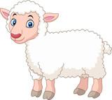 Cartoon lamb - 120744659