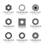 Abstract tornado symbols (1) - 120747896