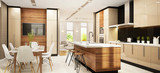 Modern large kitchen - 120762226