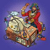 Software piracy, the hacker captain