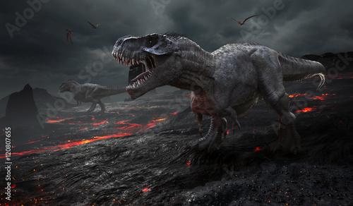 renderowania-3d-wyginiecia-dinozaurow