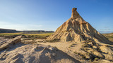 Bardenas Reales Natural Park in Spain
