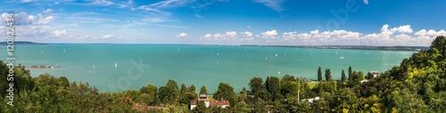 Panoramic views of Lake Balaton Poster
