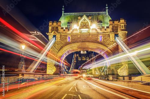 Zdjęcia na płótnie, fototapety, obrazy : Tower Bridge By Night - London, UK