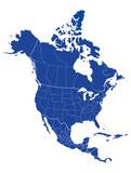 Map of North america - 120847083