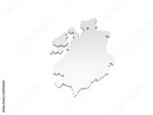 Freiburg Schweiz Karte.Gamesageddon 3d Illustration Karte Schweiz Fribourg