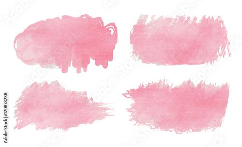Foto op Aluminium Milkshake Abstract watercolor splash. Watercolor drop. Digital art paintin