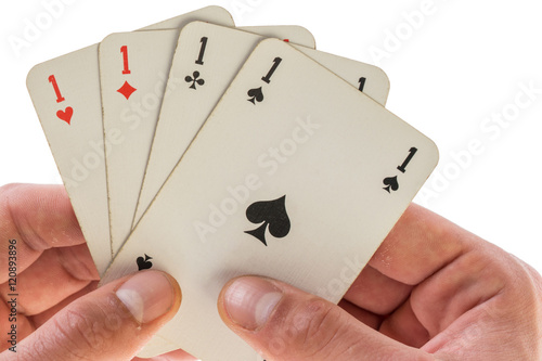 Poster four aces
