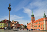Old Warsaw town  royal castle - 120943005