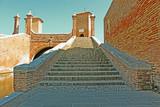 Ponte dei Sisti,treponti,Comacchio,Italia,piccola venezia,three bridges, Comacchio, Italy,Little Venice