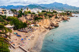 Little touristic town Nerja in Spain - 120968034
