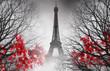 Eiffel Tower in Paris - autumn picture