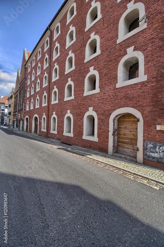 Toruń - stara kamienica