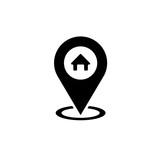home gps icon