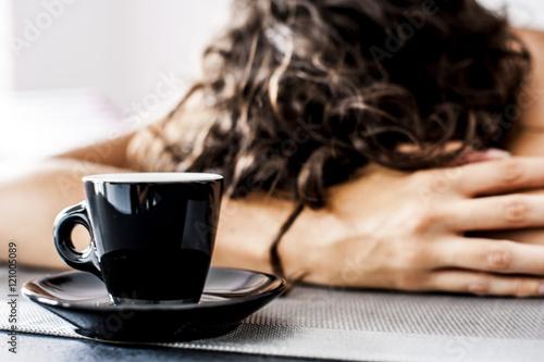 sveglia e caffè il lunedì mattina