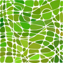 abstrakte Vektor-Buntglasmosaik Hintergrund
