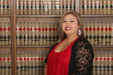 Professional Career Woman, woman lawyer in law library