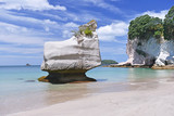 Cathedral Cove beach on Coromandel Peninsula, North Island of New Zealand.