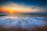 Fototapety Beautiful sunrise over the sea