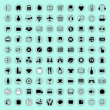 Computer icons and button vector