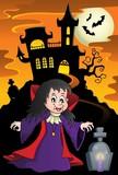 Vampire girl theme image 5