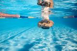 Swimmer in crawl style underwater - 121108897