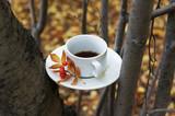 Осенняя чашка кофе