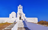 church of Panaghia Chrisopigi at Sifnos island Cyclades Greece