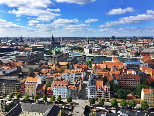 Plakát, Obraz Skyline von Kopenhagen, Dänemark