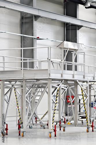 Staande foto Industrial geb. Modern industrial warehouse